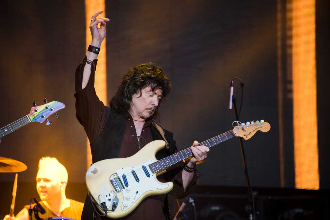 Ritchie Blackmore på Sweden rock.