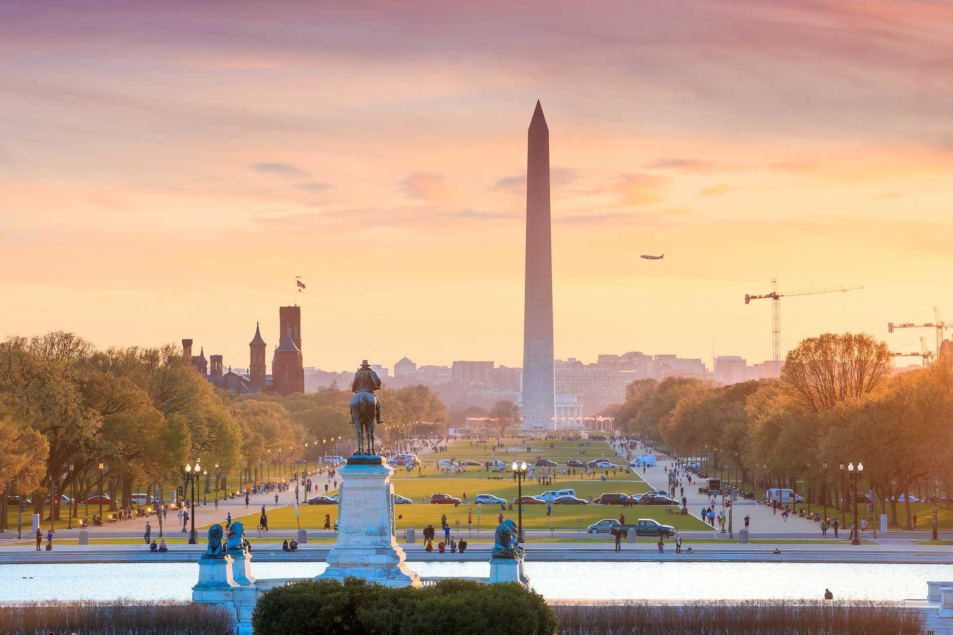 Är Washington DC politikens huvudstad? Kanske i alla fall 2020.