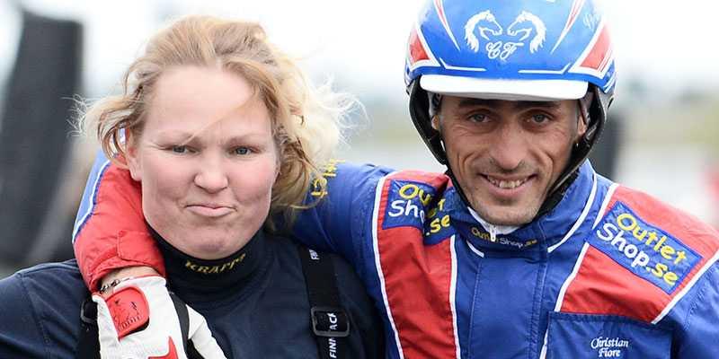Laura Myllymaa och Christian Fiore.