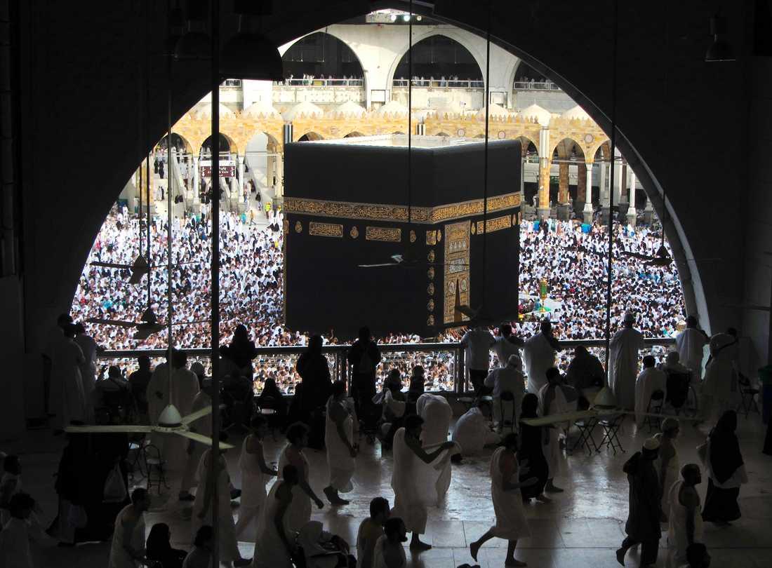 Muslimer i Mekka. Arkivbild.