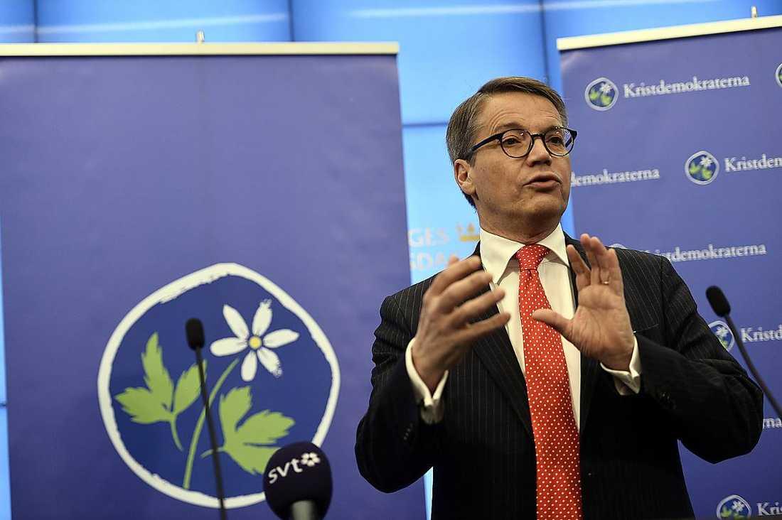 Göran Hägglund valde att hoppa av efter nästan elva år som KD-ledare.