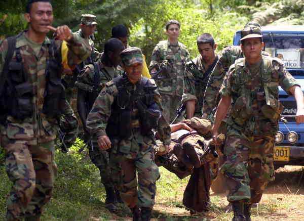 Farc-gerillan har kontrollerat Colombia i 50 år.