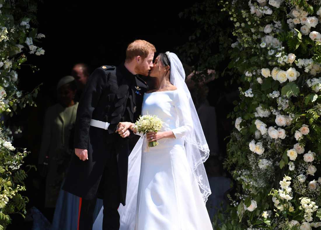 Prins Harry, 34, och Meghan Markle, 37, gifte sig 19 maj i år.
