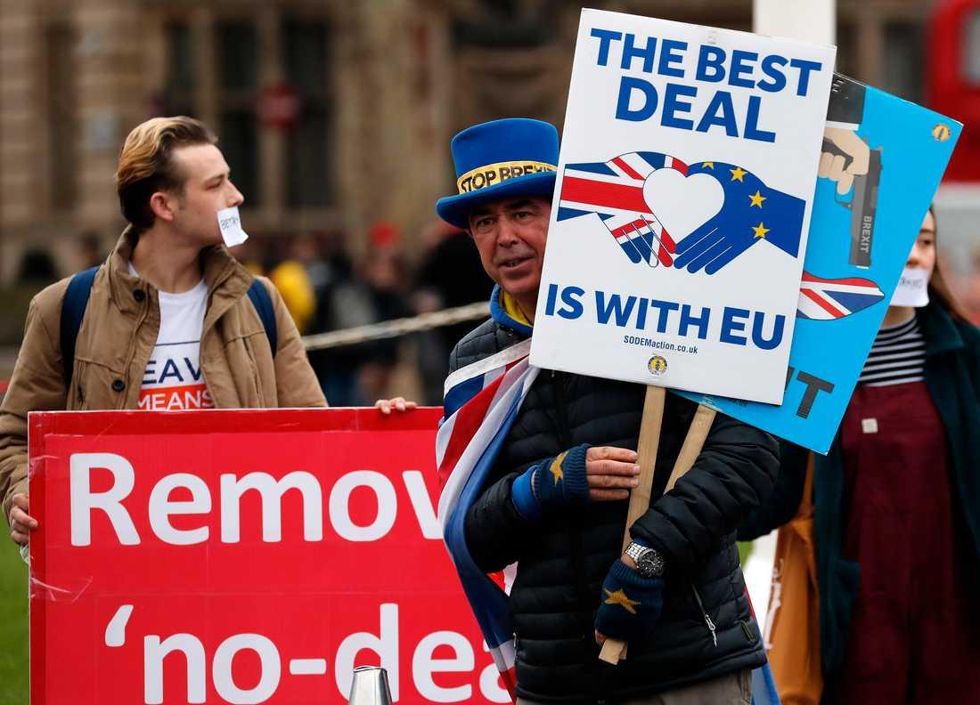 Läget kring Storbritanniens utträde ur EU är fortsatt osäkert, med bara tre veckor kvar till det planerade utträdet den 29 mars.