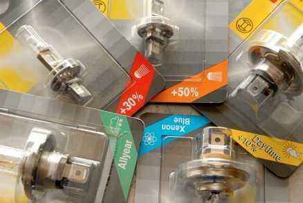 Köp glödlampor med så bra ljusutbyte som möjligt. Men inte de olagliga 100-wattarna, utan de extra dyra, men extra bra, som säljs i biltillbehörsbutikerna.