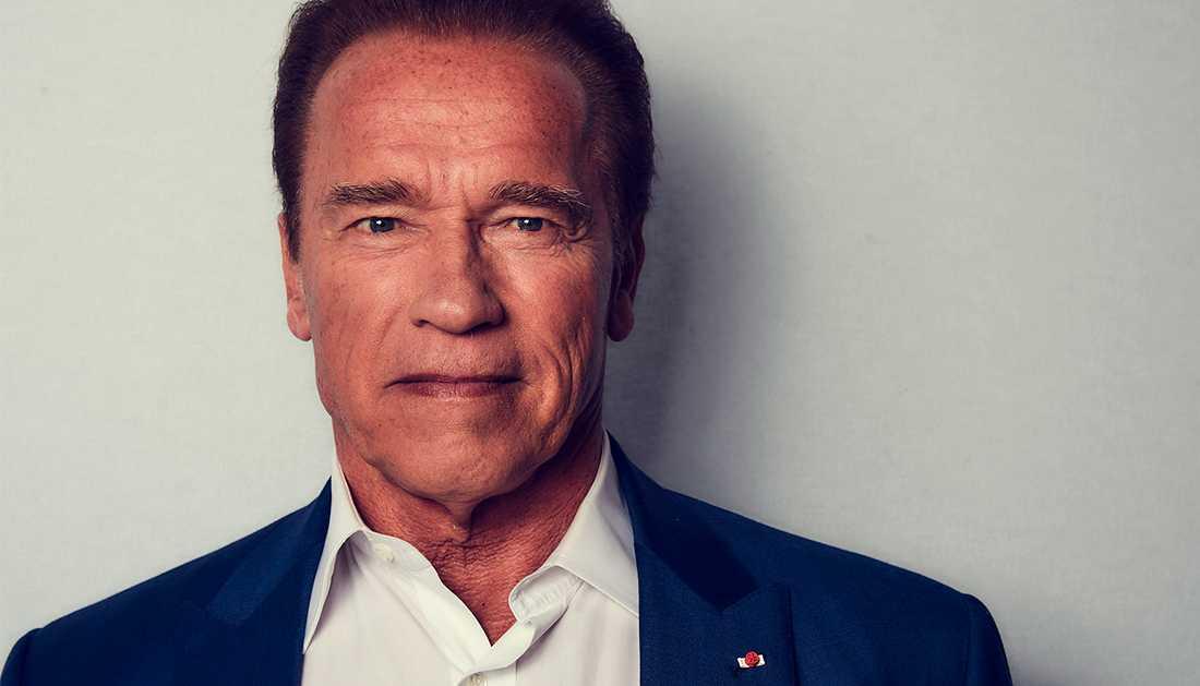 Arnold Schwarzenegger skulle vilja vara president i USA – om det hade varit tillåtet.