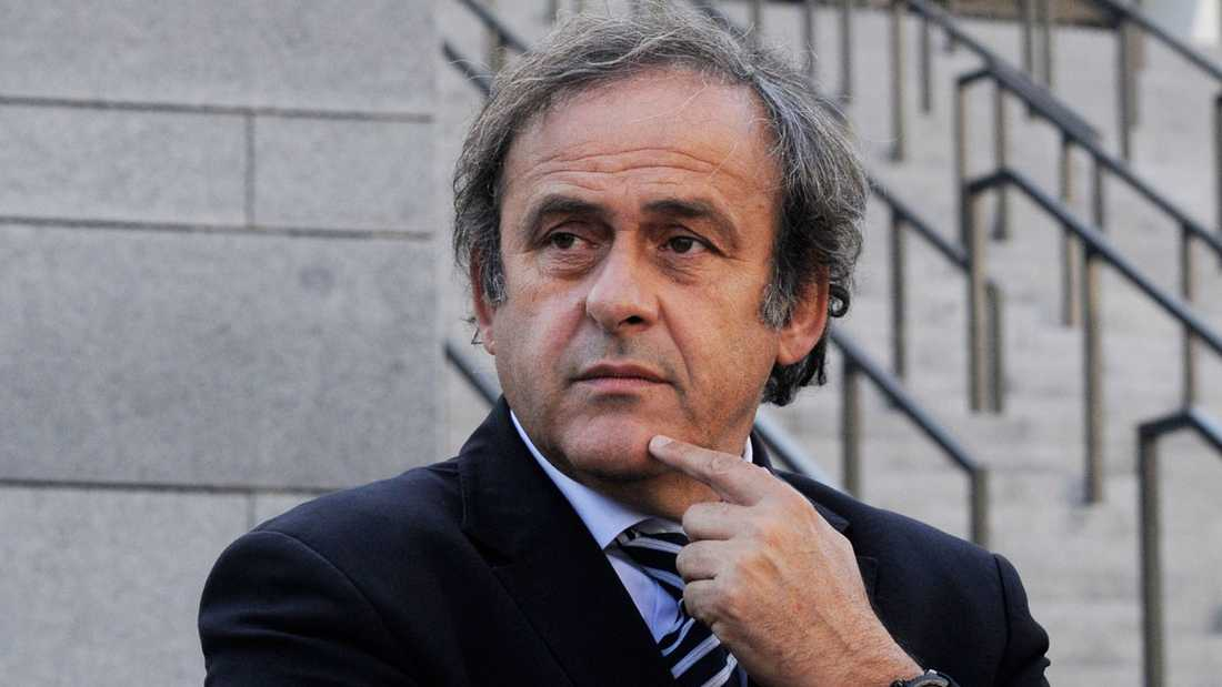Michel Platini, Uefa–president.
