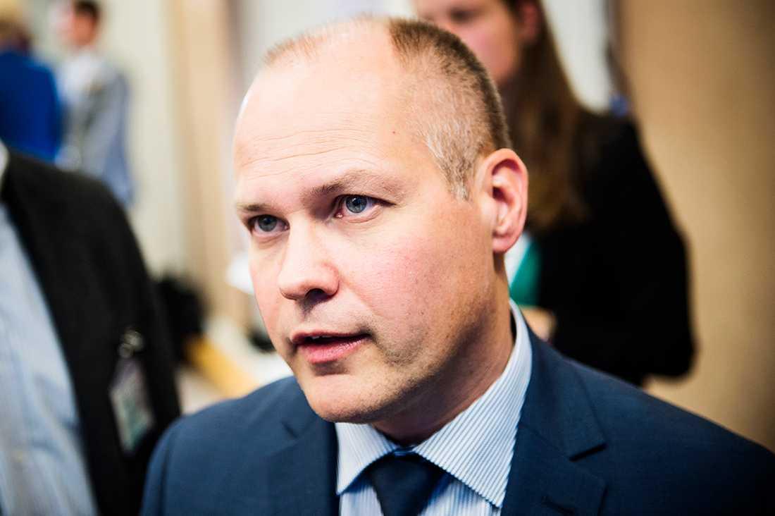Migrationsminister Morgan Johansson (S).