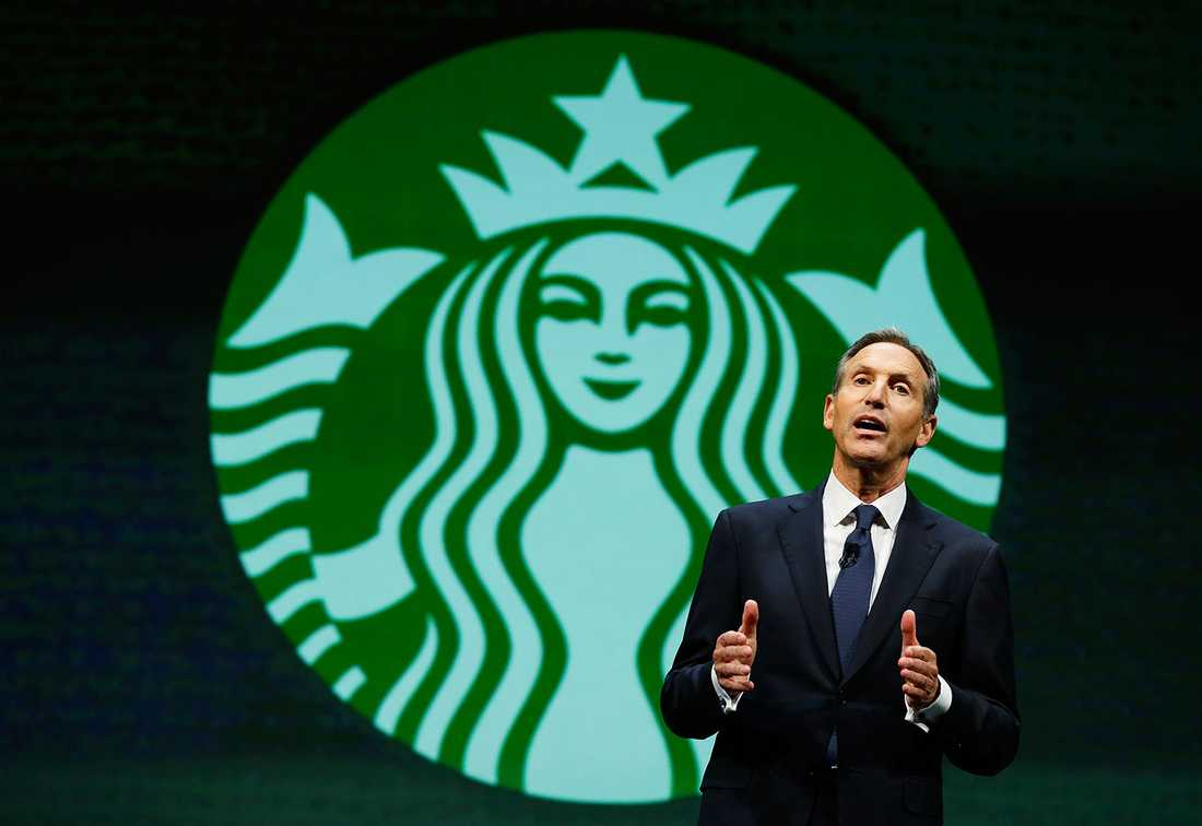 Howard Schultz var tidigare vd för Starbucks.