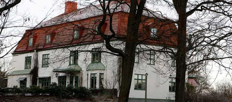 Villa Parkudden ligger på Djurgården i Stockholm. I dag finns det fyra lägenheter i huset.