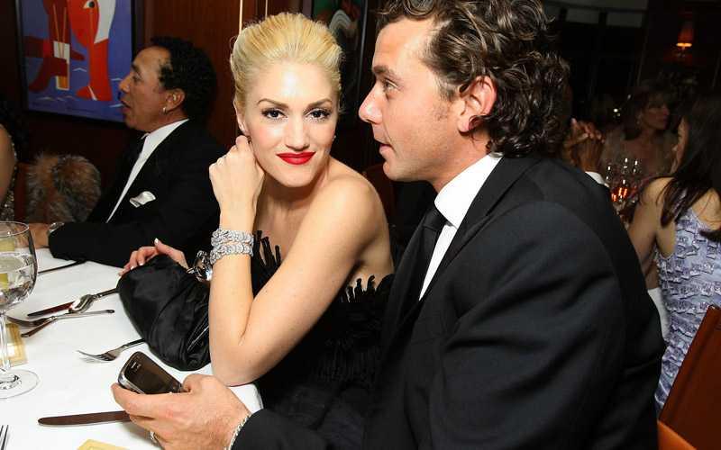 Gwen Stefani och Gavin Rossdale på Vanity Fairs Oscarsfest.