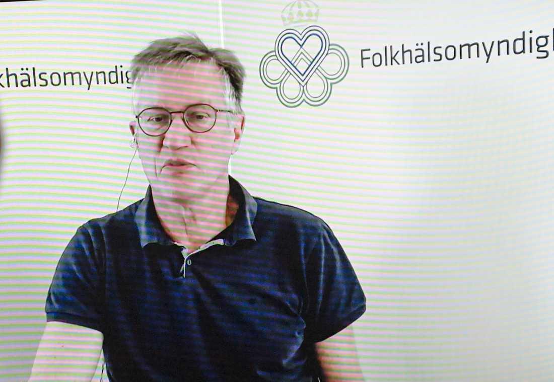 """""""Förra året var det i mitten på april, men vi hoppas att det kan gå snabbare i år"""", säger Anders Tegnell om när smittspridningen kan vända."""