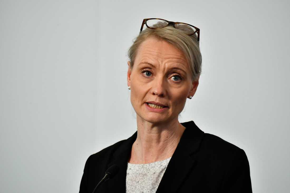 Totalt närmar vi oss cirka 10 000 coronafall i Sverige, säger Karin Tegmark Wisell vid Folkhälsomyndigheten.