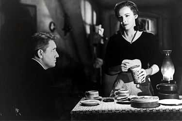 "Signe Hasso i filmen ""Det sjunde korset"", där hon spelade mot den legendariske Spencer Tracy."
