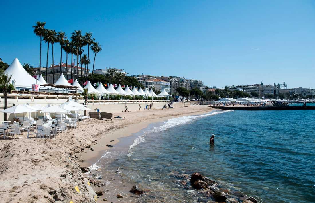 Cannes. Arkivbild.