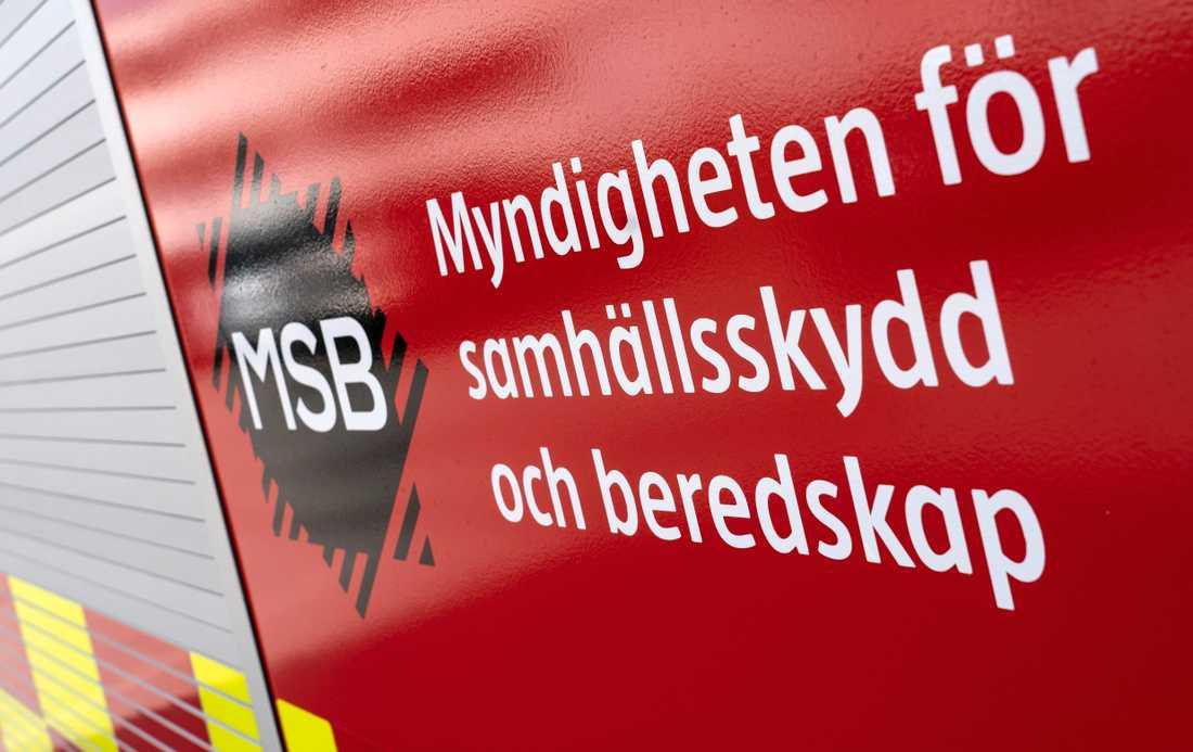 MSB hänvisar till brandstationer som inte längre finns kvar. Arkivbild