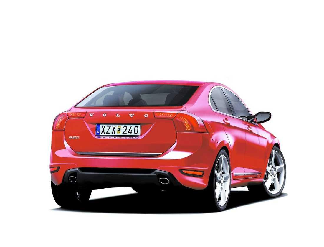 första bilden Nya Volvo S 60 kommer inte att finnas att köpa förrän om ett år – men så här ska den se ut. Kanske kan modellen – med efterlängtade bränslesnåla motorer – bli Volvos räddning.Databild: teknikens värld