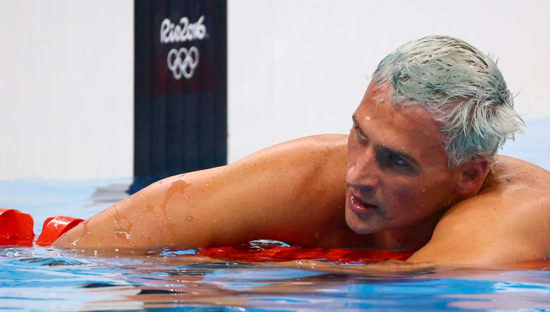 Ryan Lochte under OS i Rio 2016.