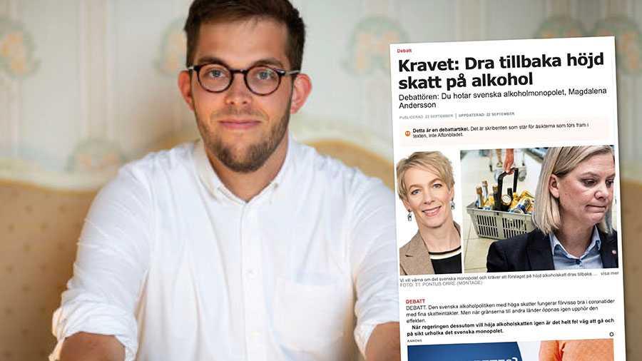 Antingen har ordet alkoholskattehöjning fått Sveriges bryggerier att tappa alla proportioner, eller så målar de medvetet upp en felaktig bild kring alkoholskatten, skriver Kalle Dramstad.