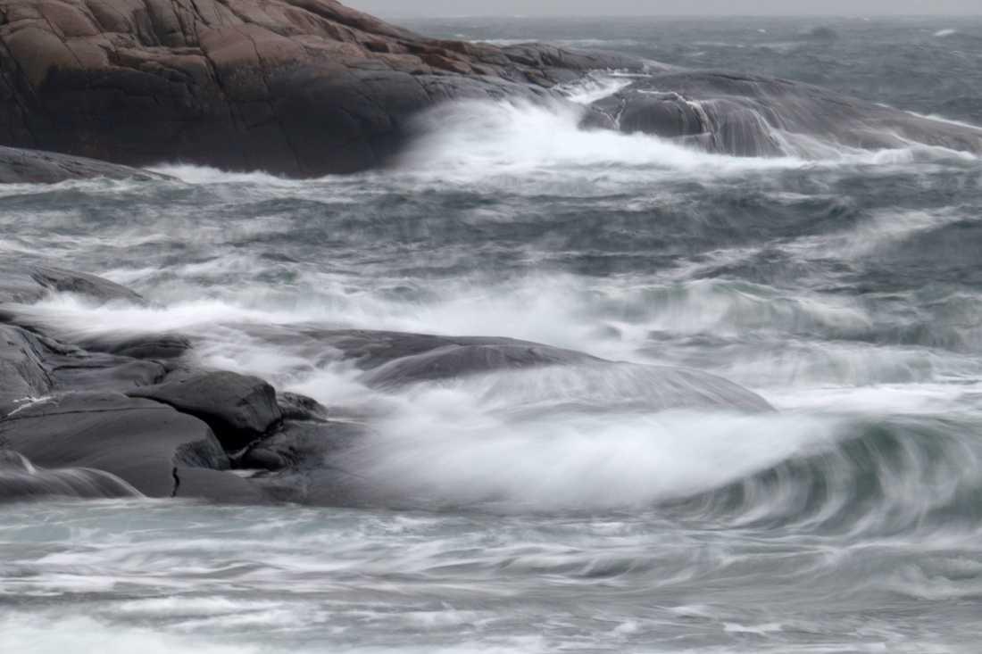 Storm i Bohuslän. Arkivbild.