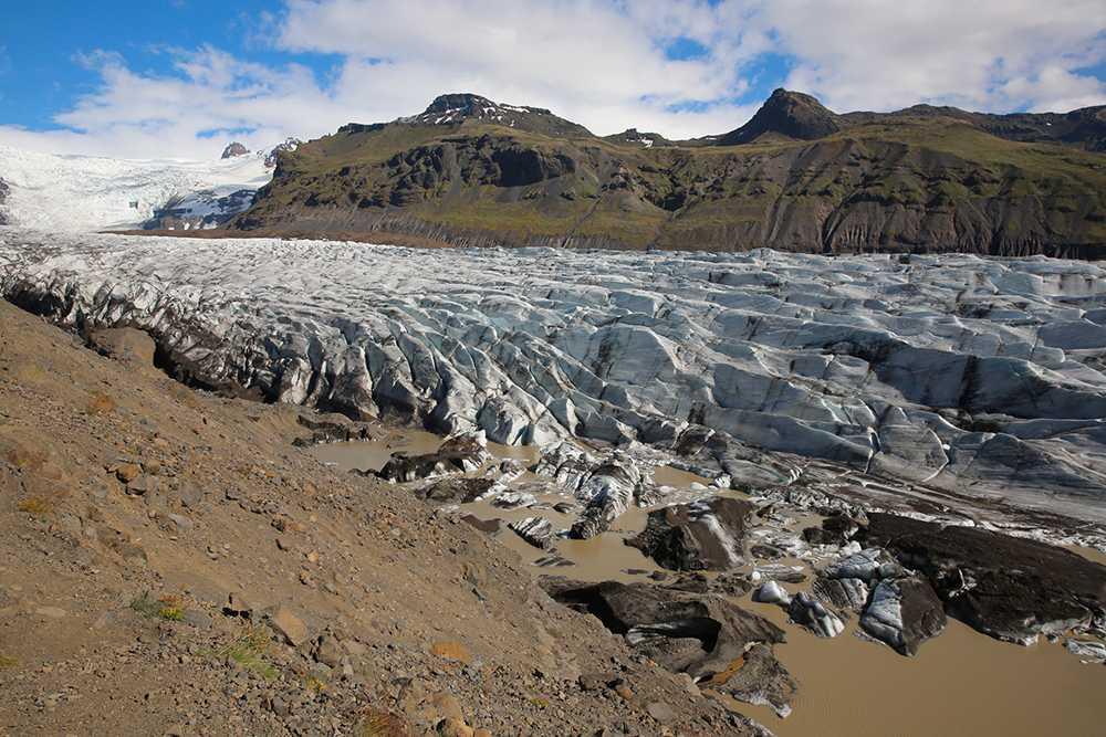 Glaciären Vatnajökull förekommer i Games of Thrones.
