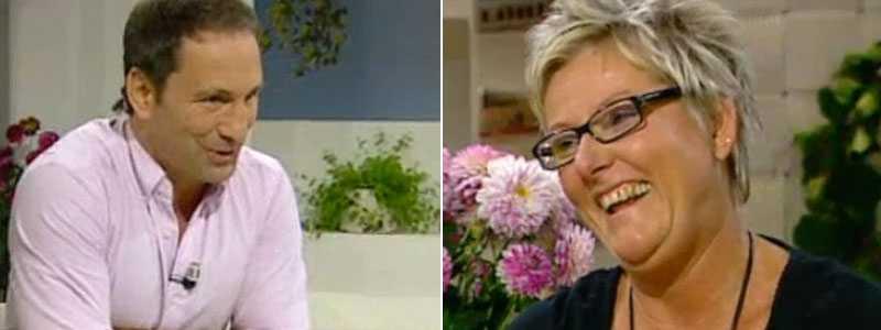 Paolo Roberto hejade på Ann-Lousie Elvenäs när hon skrapade Triss i lördags.