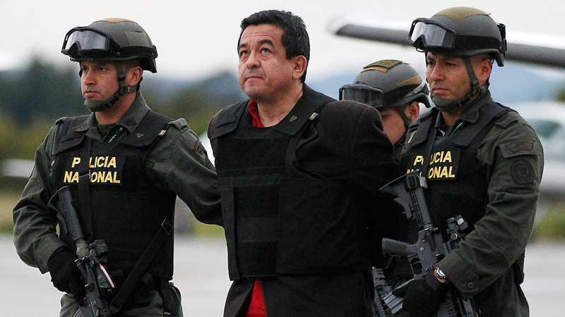 Den terroråtalade svensken Joaquín Pérez Becerra har suttit fängslad i Colombia i ett år. Foto: AP