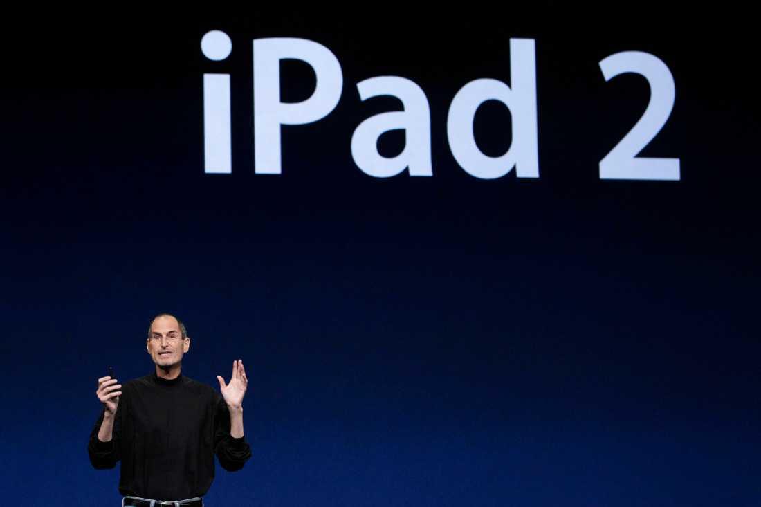 """""""Hans presentationer hade drag av väckelsemöten"""", skriver Aftonbladets Peter Pettersson som vid ett flertal tillfälle träffat gurun Steve Jobs."""