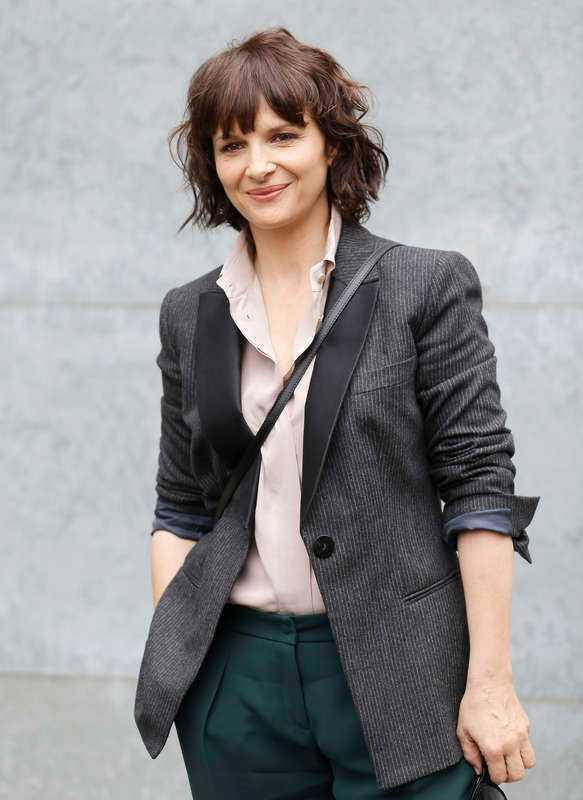 Den franska skådespelaren Juliette Binoche