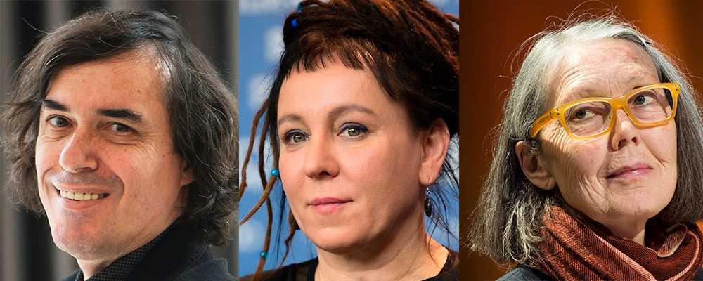 Mircea Cartarescu, Olga Tokarczuk och Anne Carson är med i förhandstipsen.