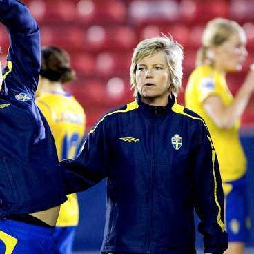 Marika Domanski Lyfors tycker att Sveriges grupp var den tuffaste och jämnaste.