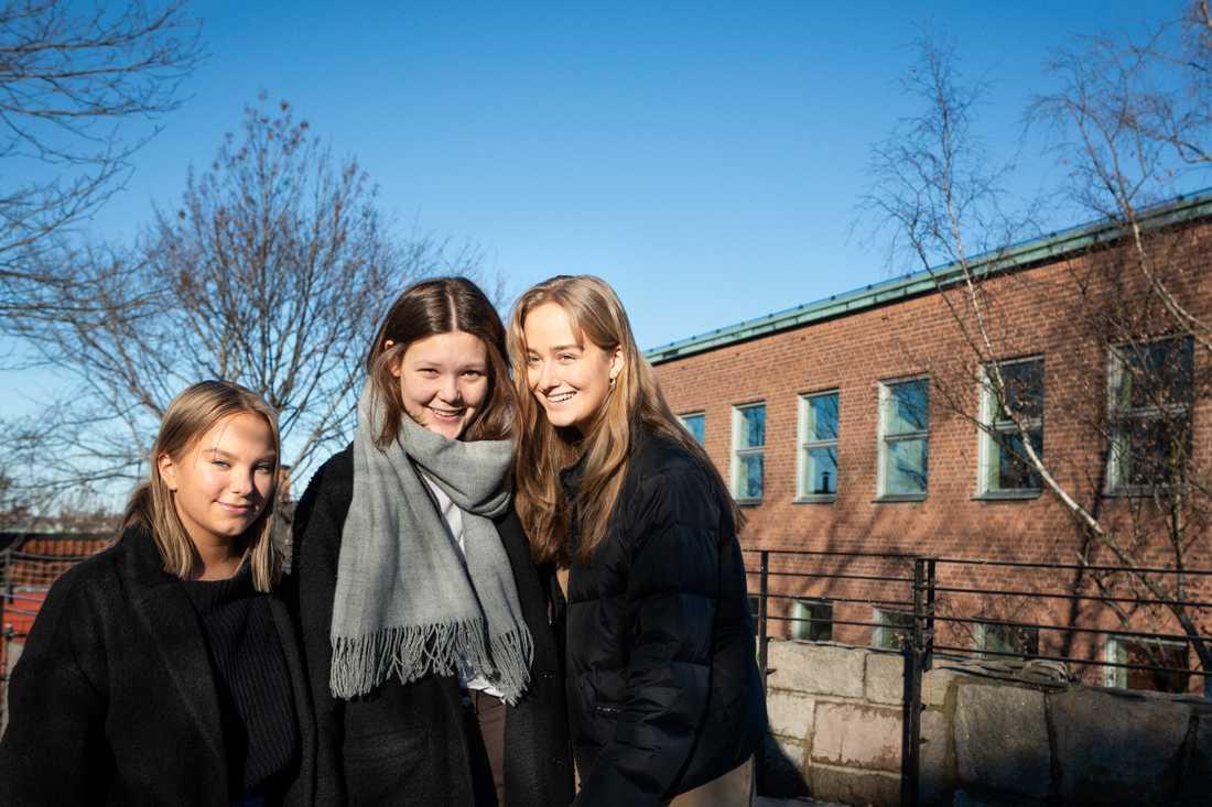 Linn, Ida, Ebba har tillsammans startat SNAF.