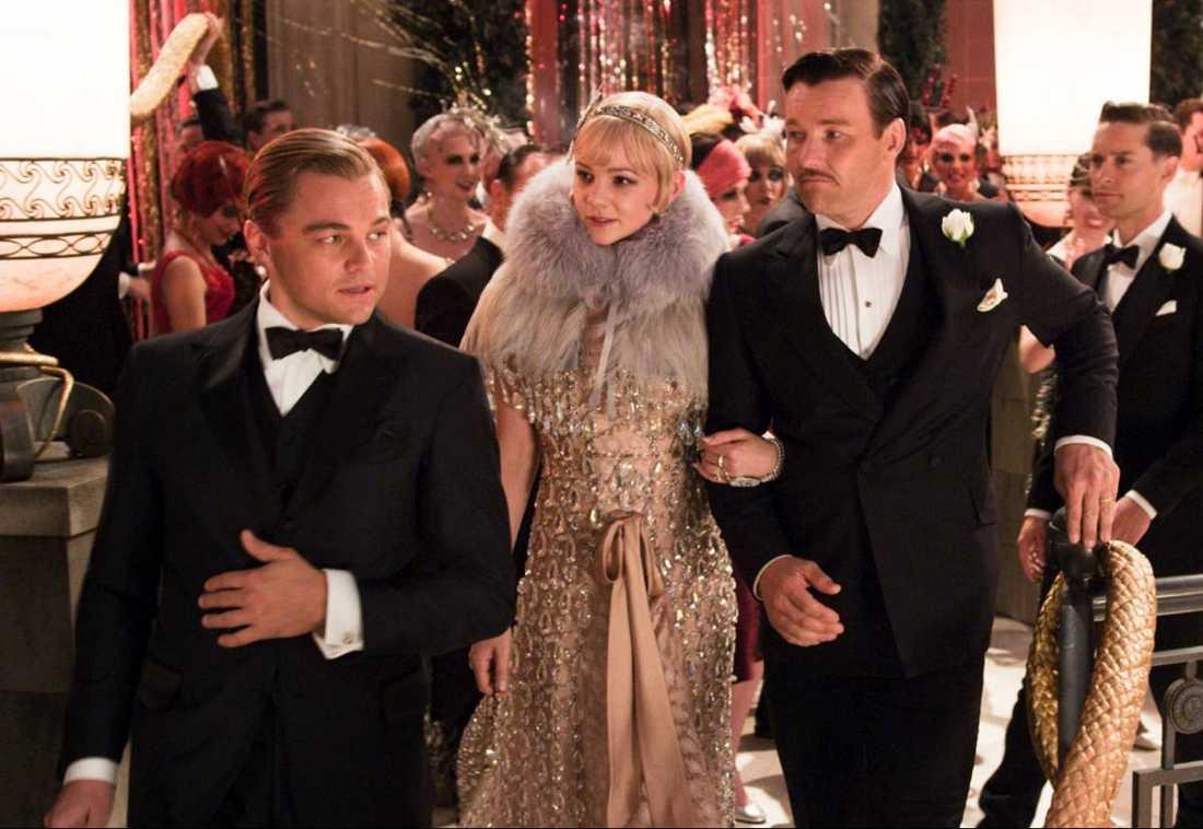 """Leonardo DiCaprio, Carey Mulligan och Joel Edgerton i nyfilmatiseringen av """"The Great Gatsby""""."""