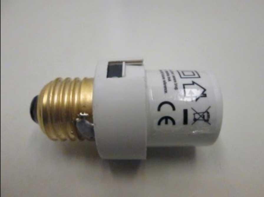 Lamphållaren med inbyggd sensor som säljs av Netto.