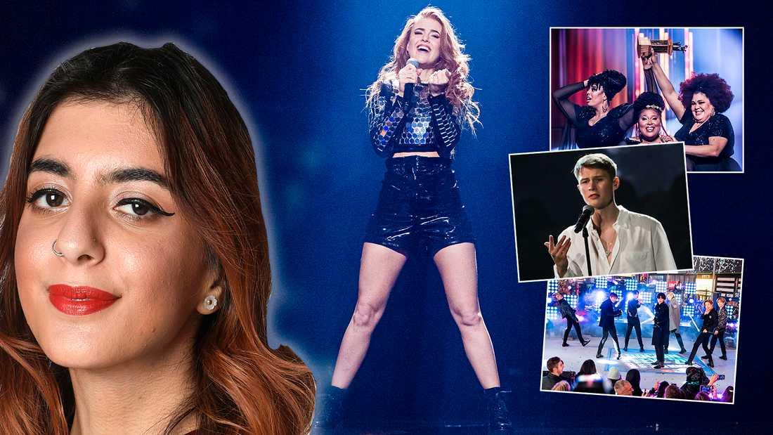 Aftonbladets musikskribent Natasha Azarmi har med Dotter, The Mamas, Victor Leksell och BTS bland sina favoriter. Håller du med?