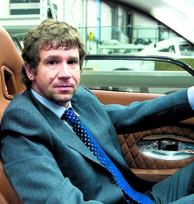 misstänkt Förre delägaren i Spyker, ryssen Vladimir Antonov, misstänks ha kopplingar till organiserad brottslighet.