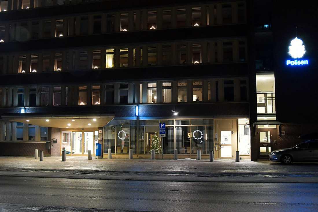 Polishuset i Sundsvall.