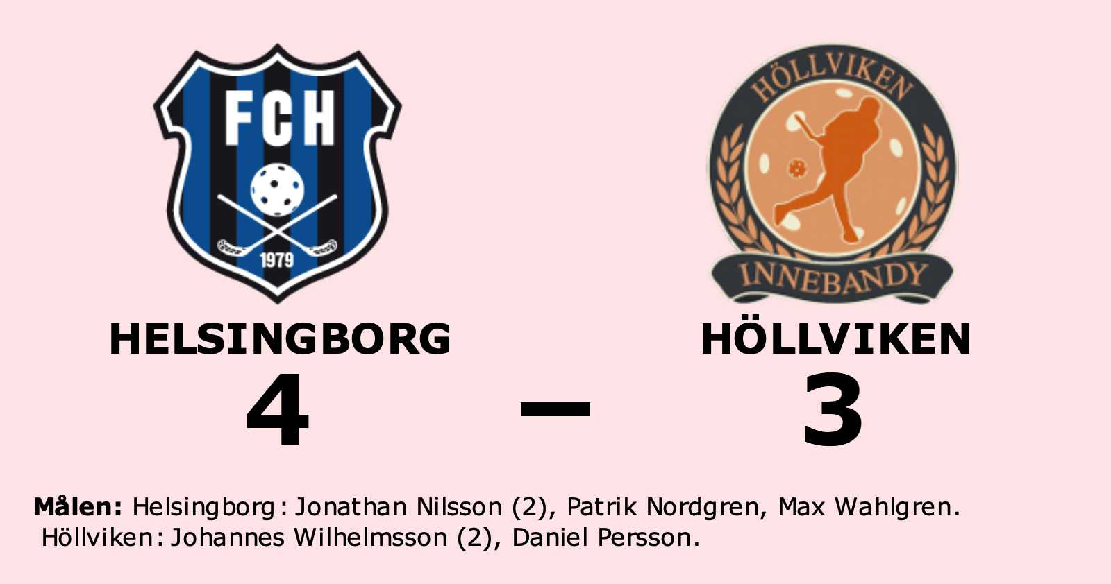 Helsingborg starkast i straffläggningen mot Höllviken