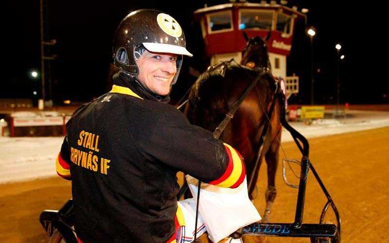 Erik Lindegren, tränare för Stall Brynäs i Rikstravet team SHL