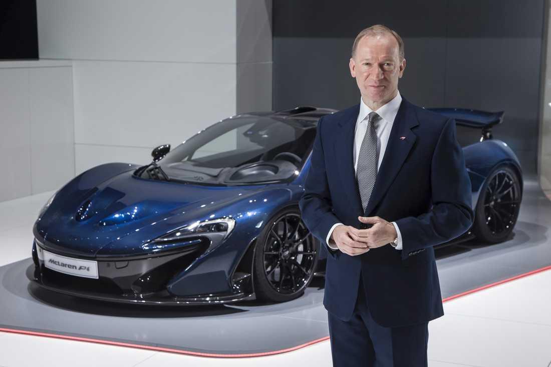 Mike Flewitt, vd för McLaren.