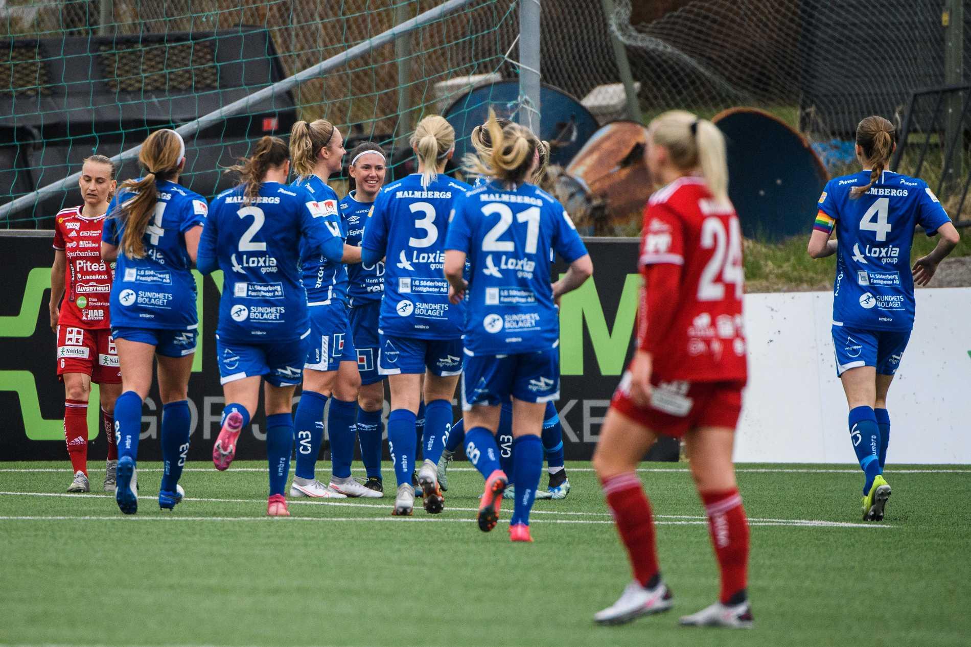Det blev 0–2 förlust för Piteå mot gästande Örebro.