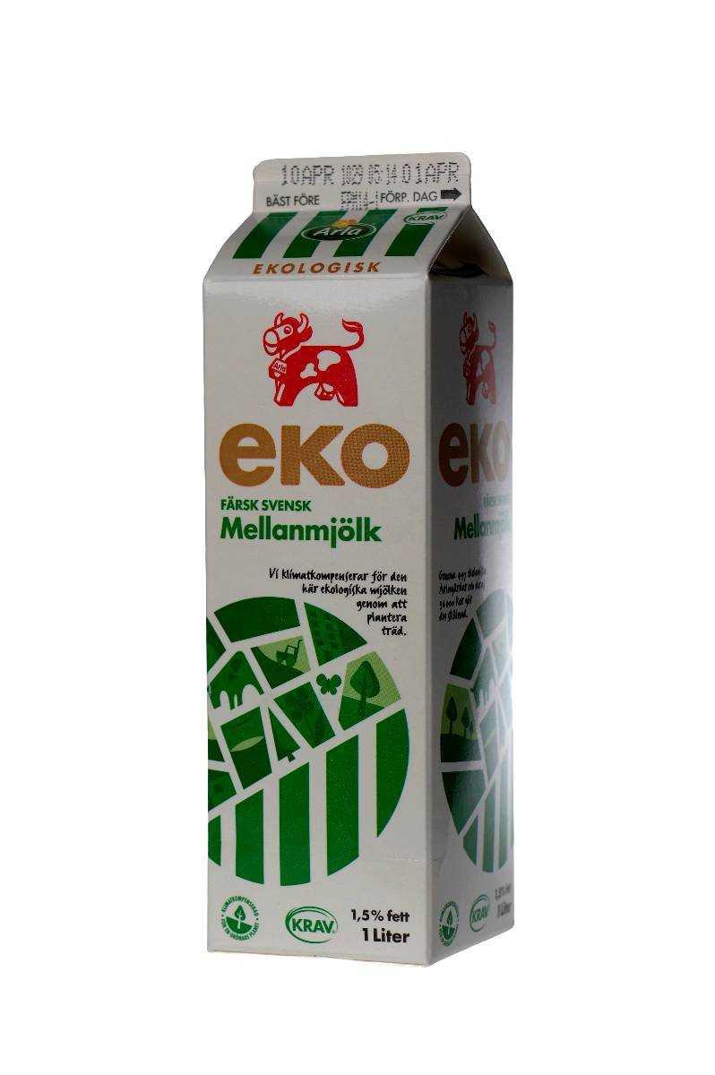 1 liter mjölk pris