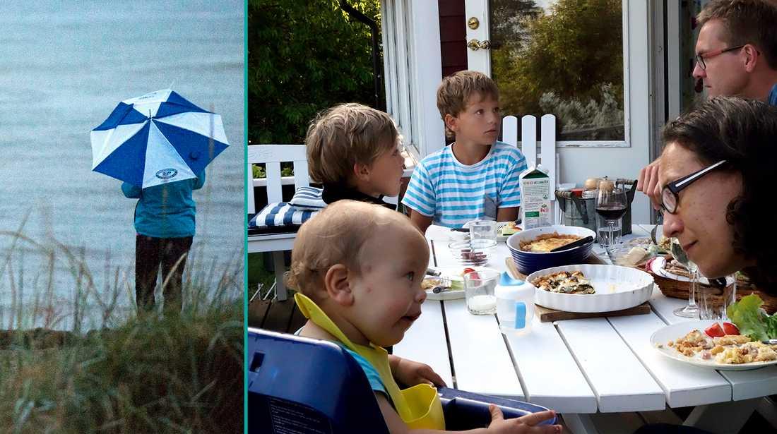 Regn och bråk är två saker folk oroar sig inför inför semestern visar undersökning av Aftonbladet Family/Inizio.