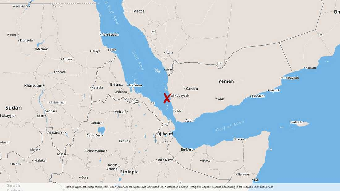 Stort fokus i Jemenkonflikten på den viktiga hamnstaden al-Hudaydah vid Röda havet.
