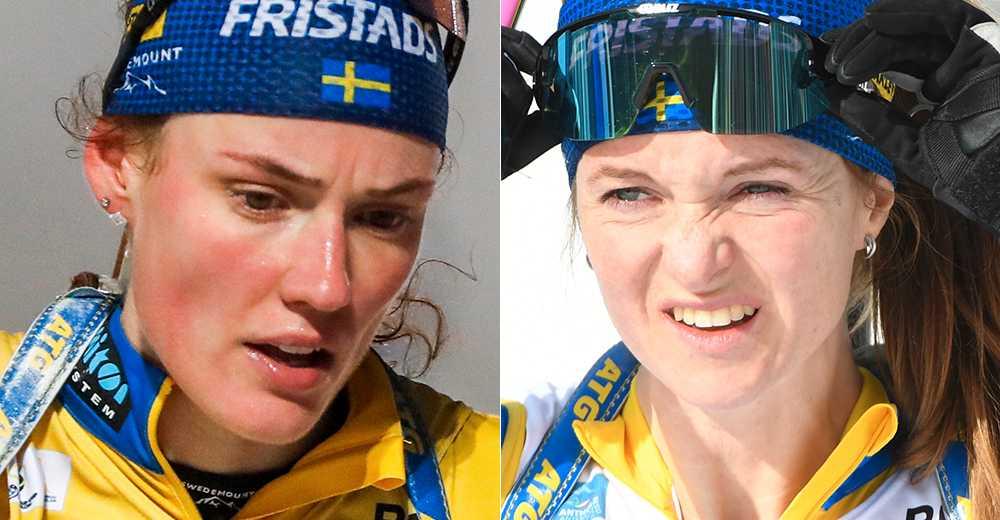 Hanna Öberg och Mona Brorsson.