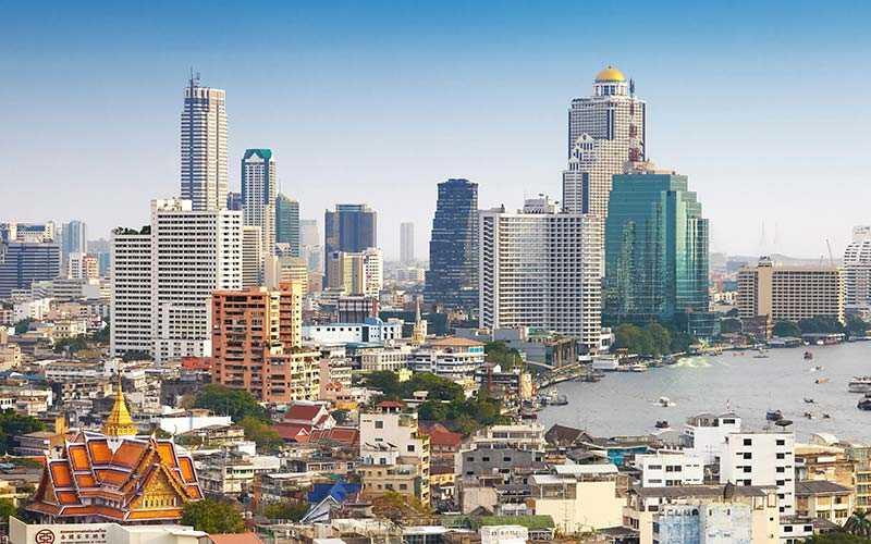 Thailands huvudstad Bangkok