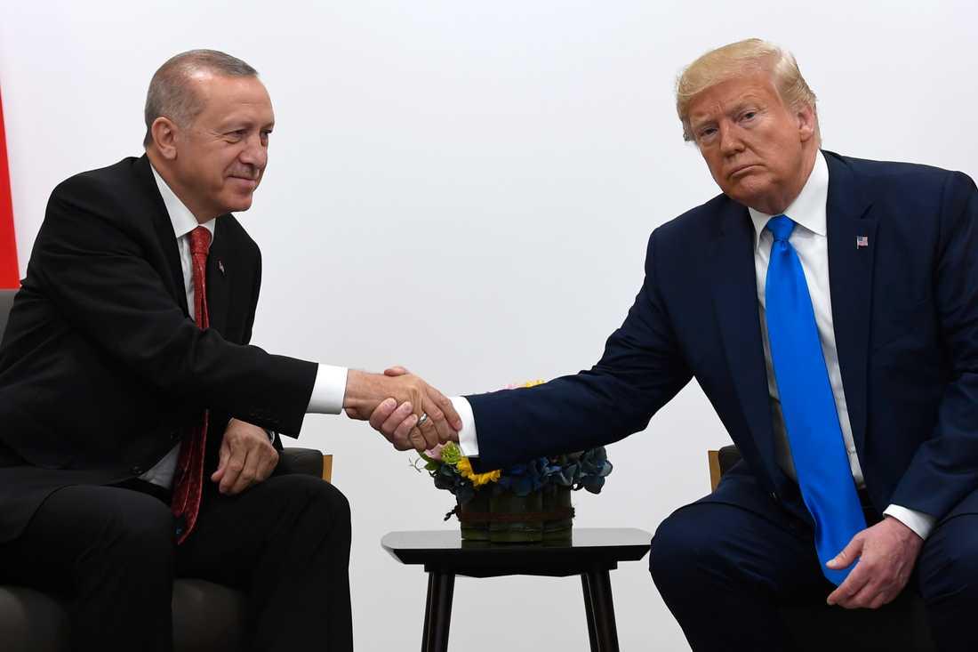 Erdogan och Trump.