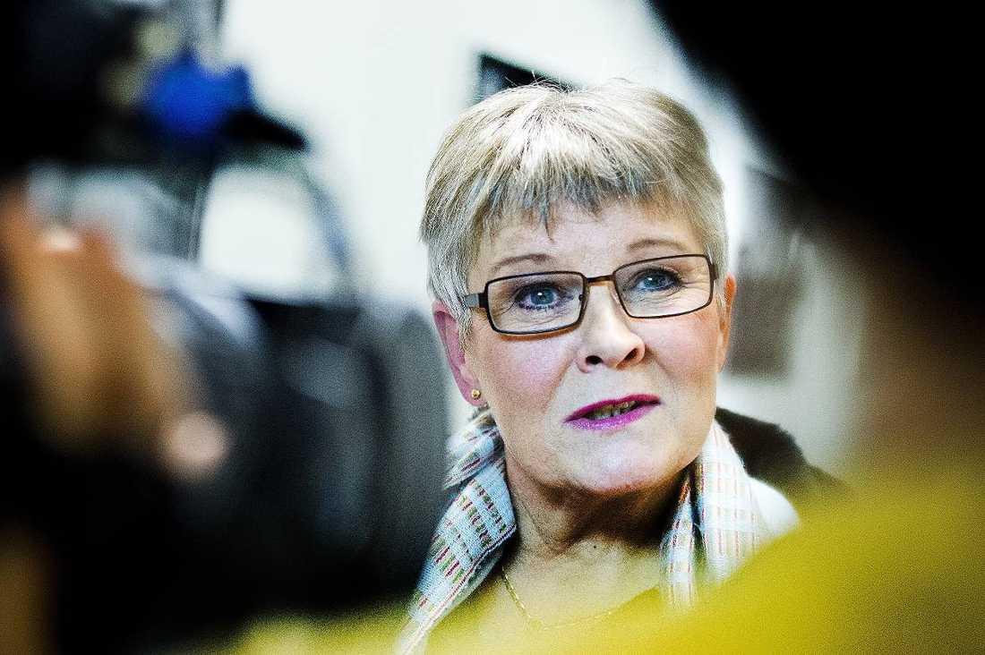 """Efter den dåliga Nuon-affären har bland andra Maud Olofsson kallats till riksdagens Konstitutionsutskott för att reda ut vad som hände. Men Olofsson har meddelat att hon inte tänker svara på frågor, något hon fått hård kritik för. """"Hade jag varit i Maud Olofssons kläder så hade jag gått dit för att svara på frågor"""", säger Göran Hägglund som sällar sig till kritikerna. Foto"""