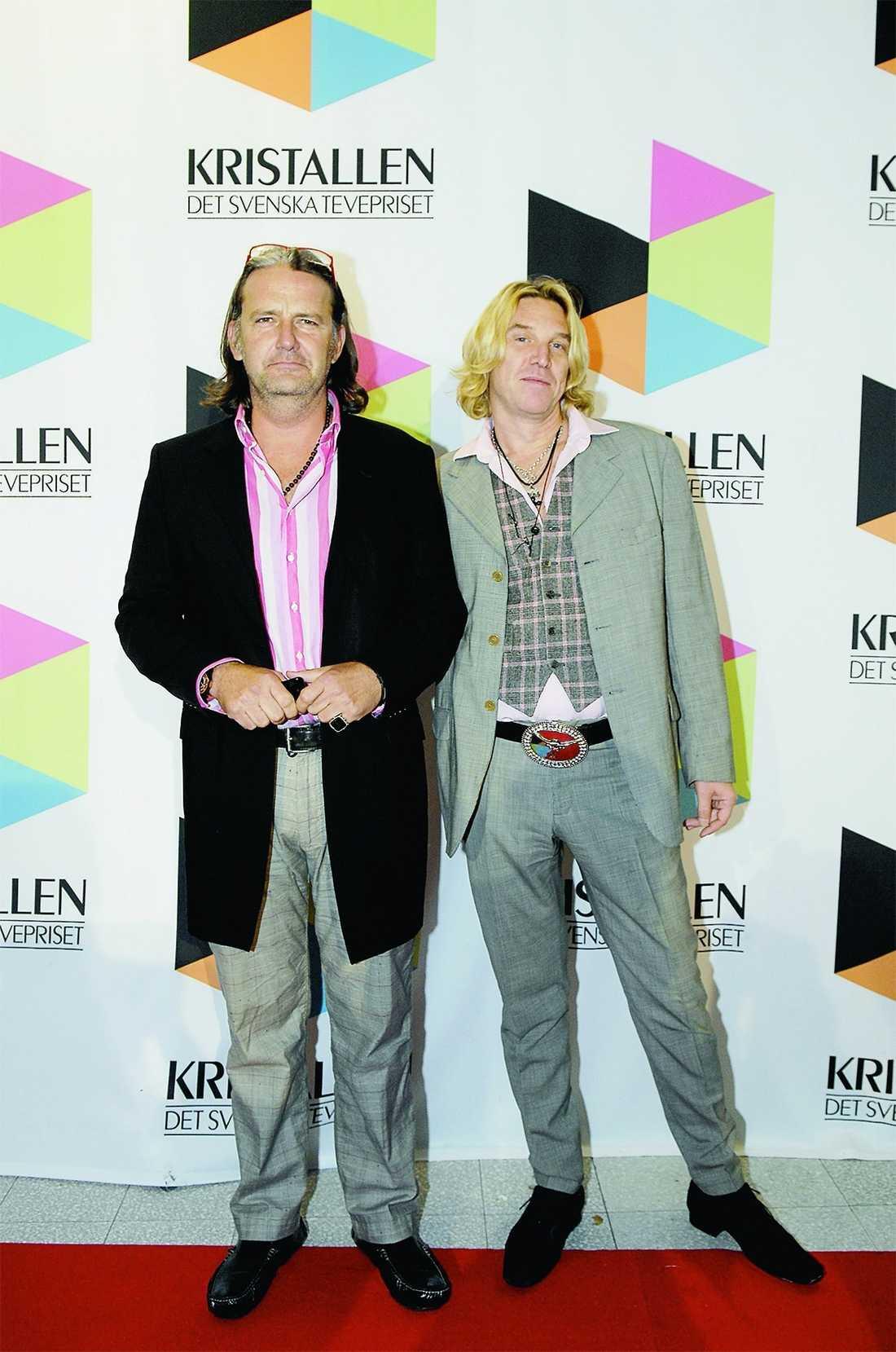 Paret på röda mattan 2011.