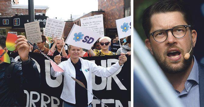 """Sverigedemokraterna tar röster i Norrland: """"Aldrig tillbaka till S"""""""